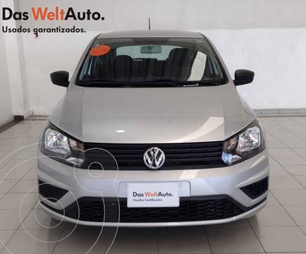 Volkswagen Gol Trendline usado (2020) color Plata precio $214,054