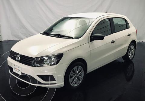 Volkswagen Gol Trendline (2019.5) usado (2020) color Blanco Candy financiado en mensualidades(enganche $40,000 mensualidades desde $4,835)