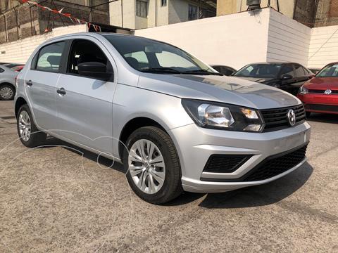 Volkswagen Gol Trendline usado (2020) color Plata financiado en mensualidades(enganche $67,286 mensualidades desde $4,226)