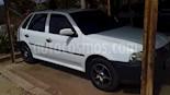 Volkswagen Gol 5 Ptas. Basic usado (2001) color Blanco precio u$s2.400