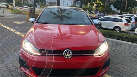 Volkswagen Golf GTI 2.0T DSG Navegacion Piel usado (2018) color Rojo precio $489,000