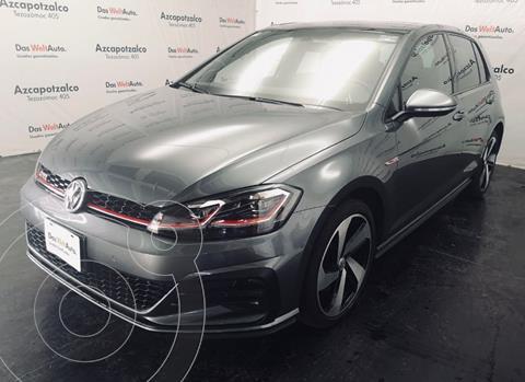 Volkswagen Golf GTI 2.0T DSG usado (2020) color Gris Carbono financiado en mensualidades(enganche $101,000 mensualidades desde $8,930)