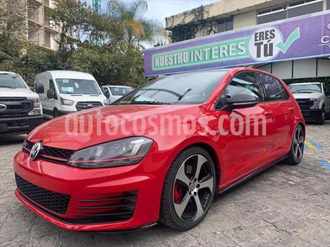 Volkswagen Golf GTI DSG SISTEMA NAVEGACION / RINES ALUMINIO 18 usado (2015) color Rojo precio $349,000