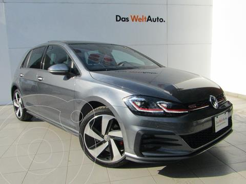 Volkswagen Golf GTI 2.0T DSG usado (2020) color Gris Platino precio $485,000