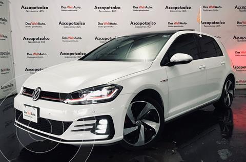 Volkswagen Golf GTI 2.0T DSG Navegacion Piel usado (2019) color Blanco financiado en mensualidades(enganche $100,000 mensualidades desde $10,953)