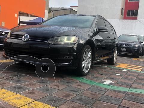 Volkswagen Golf Sportwagen Diesel DSG usado (2016) color Negro precio $229,000