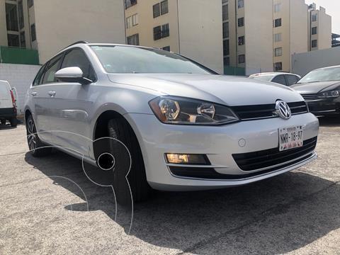 Volkswagen Golf Sportwagen Diesel DSG usado (2016) color Plata Reflex precio $280,000