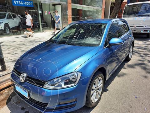 Volkswagen Golf 5P 1.4 TSi Comfortline usado (2017) color Azul precio $2.280.000