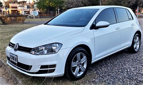 Volkswagen Golf 5P 1.6 TSi Trendline usado (2015) color Blanco precio $1.850.000