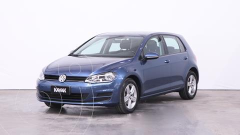 Volkswagen Golf 5P 1.6 TSi Trendline usado (2017) color Azul precio $1.880.000