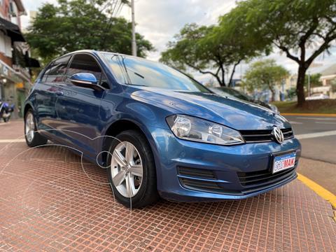 Volkswagen Golf 5P 1.6 TSi Trendline usado (2017) color Azul financiado en cuotas(anticipo $1.170.000)