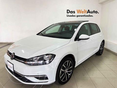 Volkswagen Golf Highline DSG usado (2019) color Blanco precio $385,582