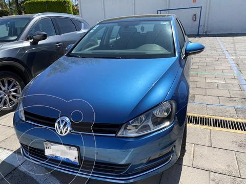 Volkswagen Golf Highline DSG usado (2016) color Azul precio $238,000