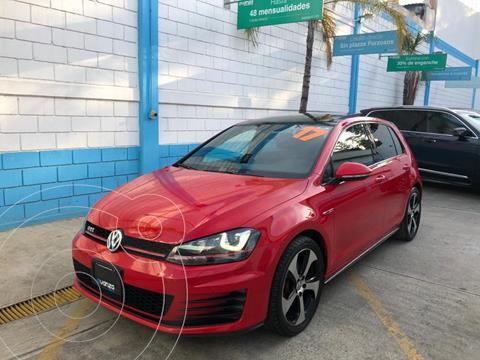 Volkswagen Golf GTi A2 2.0L usado (2017) color Rojo precio $389,000