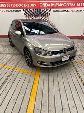 Volkswagen Golf Highline DSG usado (2017) color Gris Platino financiado en mensualidades(enganche $157,500 mensualidades desde $3,754)