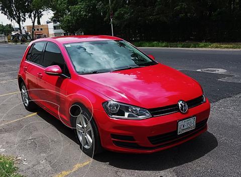 Volkswagen Golf Comfortline usado (2016) color Rojo precio $185,000