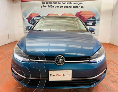 Volkswagen Golf Highline DSG usado (2019) color Azul precio $369,000