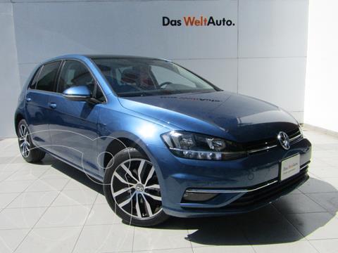 Volkswagen Golf Highline DSG usado (2020) color Azul Metalico precio $419,000