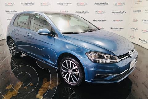 Volkswagen Golf Highline DSG usado (2019) color Azul Metalico financiado en mensualidades(enganche $80,000 mensualidades desde $7,977)
