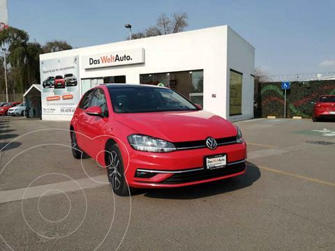 Volkswagen Golf Highline DSG usado (2019) color Rojo precio $369,000