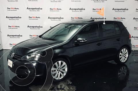Volkswagen Golf 1.4 T usado (2013) color Negro Profundo financiado en mensualidades(enganche $38,000 mensualidades desde $4,484)