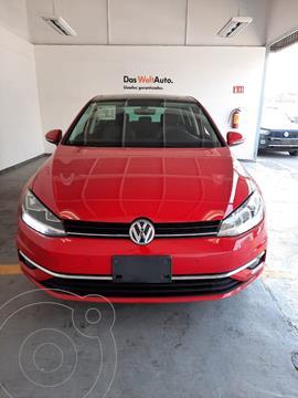 Volkswagen Golf HIGHLINEL4 1.4L TSI ABS BA DSG usado (2020) color Rojo Tornado precio $400,000