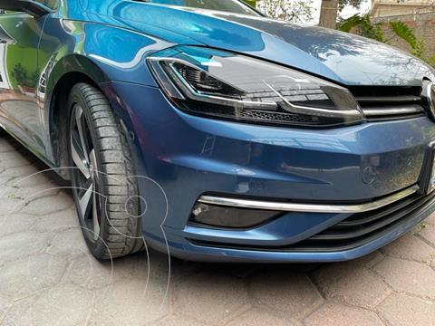 Volkswagen Golf Highline DSG usado (2018) color Azul Noche precio $320,000