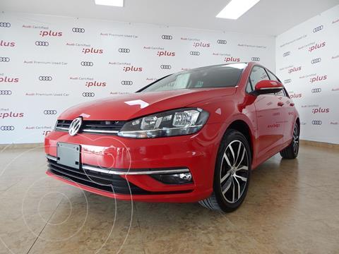 Volkswagen Golf Highline DSG usado (2019) color Rojo precio $389,000