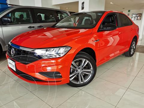 Volkswagen Jetta Comfortline usado (2020) color Naranja precio $364,000