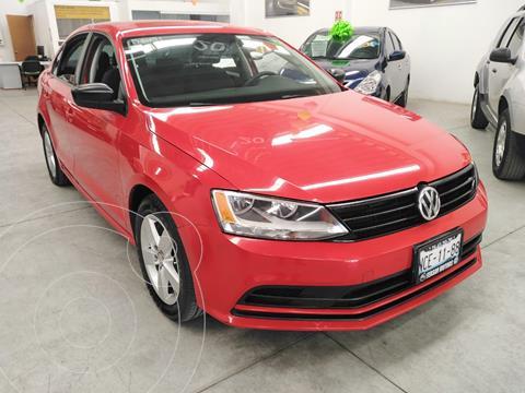 Volkswagen Jetta 2.0 usado (2018) color Rojo Tornado precio $195,000