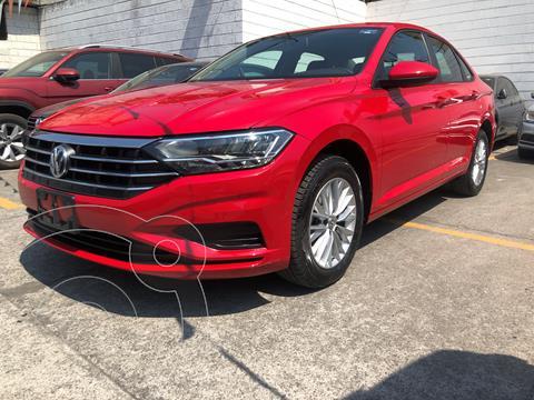 Volkswagen Jetta Comfortline usado (2020) color Rojo Tornado financiado en mensualidades(enganche $74,000 mensualidades desde $7,500)