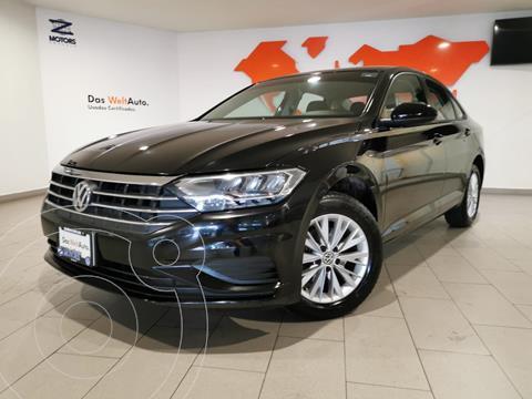 Volkswagen Jetta Comfortline usado (2019) color Negro financiado en mensualidades(enganche $80,484 mensualidades desde $9,138)
