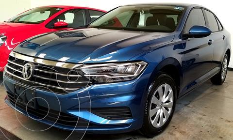 Volkswagen Jetta Trendline Tiptronic nuevo color Azul financiado en mensualidades(enganche $70,400 mensualidades desde $10,700)