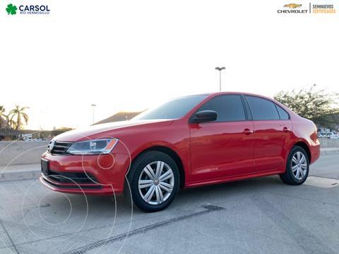Volkswagen Jetta Fest usado (2018) color Rojo precio $220,000