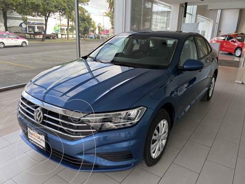 Volkswagen Jetta Startline Tiptronic usado (2020) color Azul precio $305,000