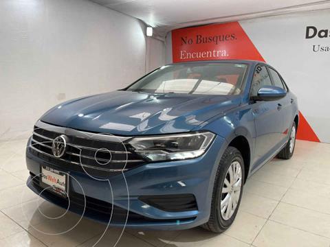 Volkswagen Jetta Startline Tiptronic usado (2020) color Azul precio $366,000