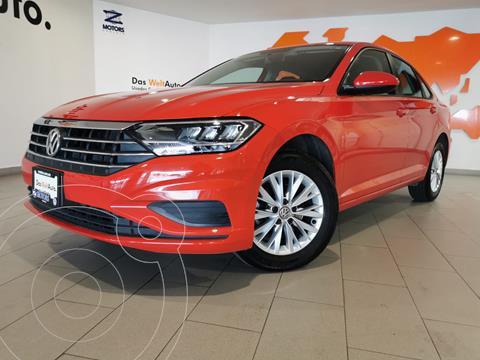 Volkswagen Jetta Comfortline usado (2020) color Rojo financiado en mensualidades(enganche $91,489 mensualidades desde $10,190)