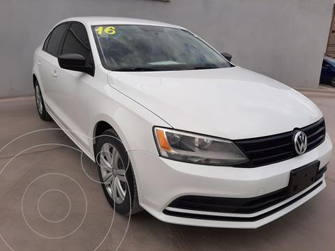 foto Volkswagen Jetta 2.0 usado (2016) color Blanco precio $209,385