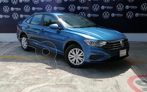 Volkswagen Jetta Trendline usado (2021) color Azul precio $310,000