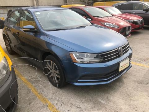 Volkswagen Jetta Trendline Tiptronic usado (2017) color Azul precio $225,000