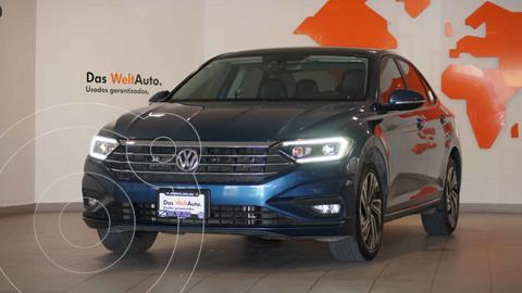Volkswagen Jetta Highline Tiptronic usado (2019) color Azul precio $369,900