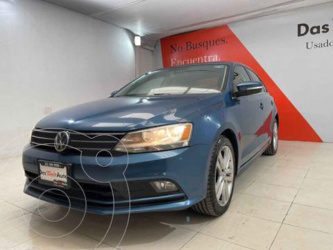 Volkswagen Jetta Sportline Tiptronic usado (2016) color Azul precio $254,000