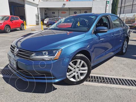Volkswagen Jetta Trendline usado (2017) color Azul precio $220,000