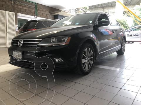 Volkswagen Jetta Comfortline Tiptronic usado (2017) color Negro Onix financiado en mensualidades(enganche $80,000 mensualidades desde $7,800)