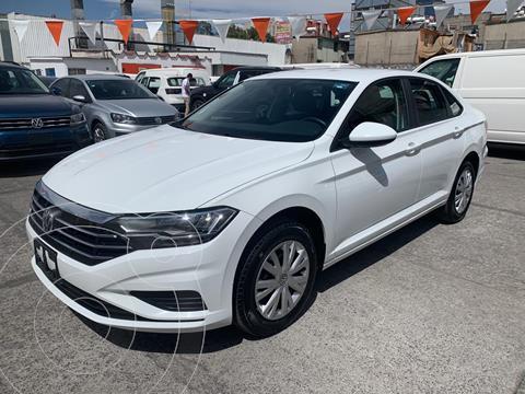 Volkswagen Jetta Startline Tiptronic usado (2020) color Blanco financiado en mensualidades(enganche $65,600 mensualidades desde $7,585)