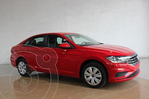 Volkswagen Jetta Trendline usado (2019) color Rojo precio $228,000