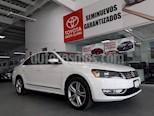 Foto venta Auto usado Volkswagen Passat 4p VR6 V6/3.6 Aut Cam/tr (2015) color Blanco precio $219,000