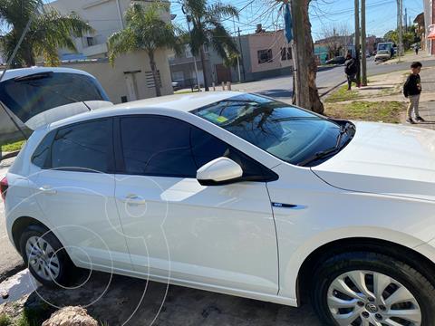 Volkswagen Polo 5P Trendline Aut usado (2018) color Blanco precio $1.700.000