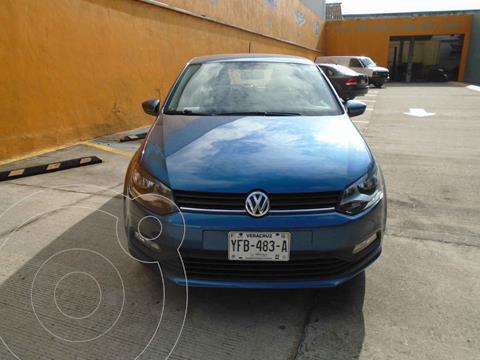 Volkswagen Polo Hatchback 1.6L usado (2018) color Azul precio $195,500