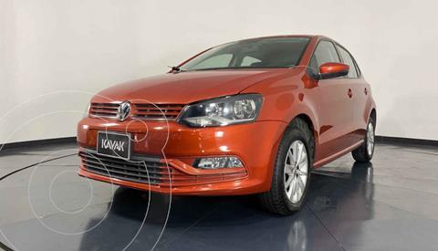 Volkswagen Polo Hatchback Startline usado (2019) color Naranja precio $189,999